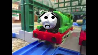 Thomas The Trackmaster Engine   Percy & The Dragon Remake