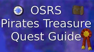 [OSRS] Pirate's Treasure Quick F2P Quest Guide
