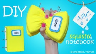 How To Make A Squishy Notebook Stress Reliever With Washable Pages – DIY Squishy Notebook