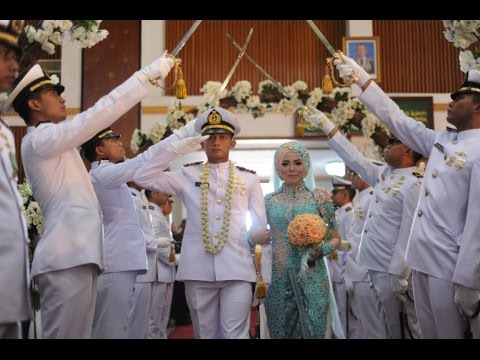 Wedding Desi & Yogie Pedang Pora Angkatan Laut 2017