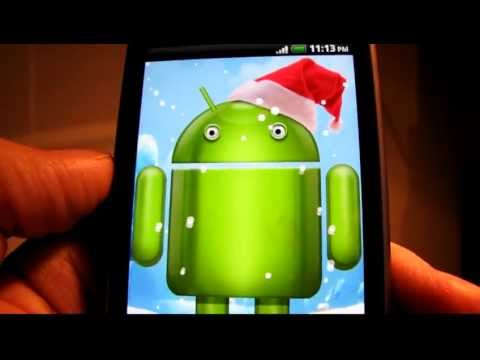 Video of Winter Droid Live Wallpaper