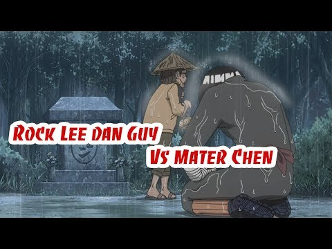 Rock Lee dan Guy Vs Mater Chen Sub Indonesia ★ Fan Naruto