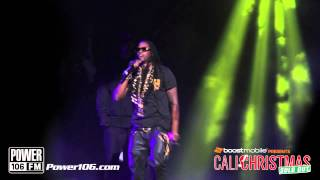 "2 Chainz Performs ""I'm Different"" at Sold Out Cali Christmas 2012"