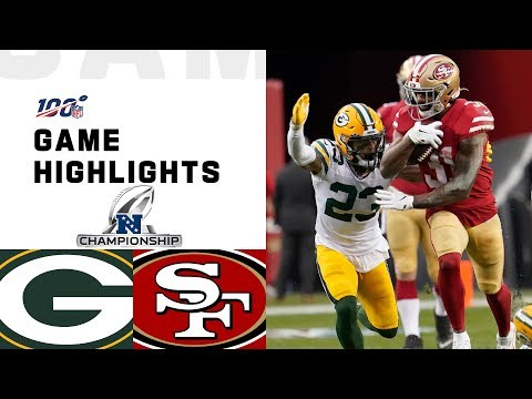 Packers vs. 49ers NFC Championship Highlights | NFL 2019 Playoffs