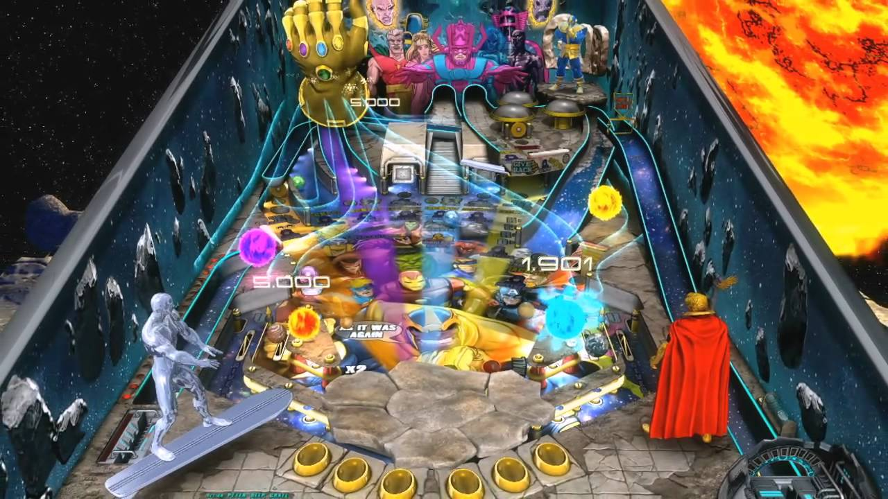 Marvel Pinball: Avengers Chronicles Dons The Infinity Gauntlet Next Week