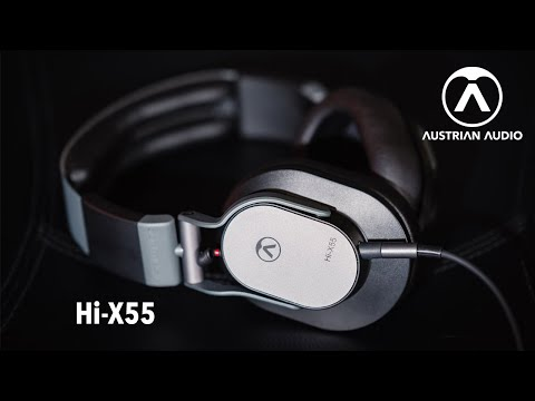 Austrian Audio Hi-X55 & Hi-X50 Professional Headphones. Made in Austria.