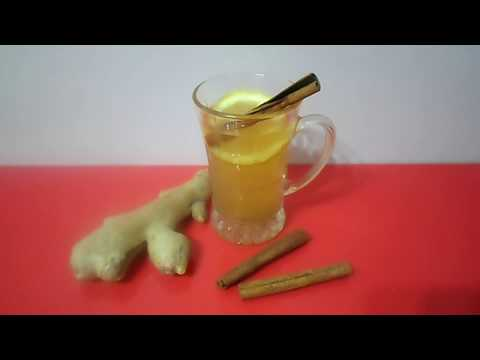 Чай для похудения   Вкуснейший зеленый чай с имбирем, лимоном и корицей