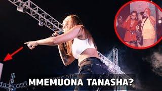 Tazama Tiwa Savage alivyopanda na Tanasha stejini  / amfundisha Esma kucheza