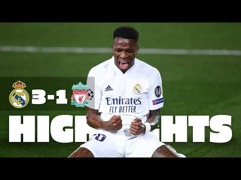 Two-goal hero Vini Jr.! | Real Madrid 3-1 Liverpool | HIGHLIGHTS