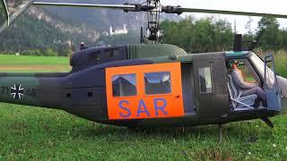 Bell UH 1D  SAR 7148, Helifreunde Schwangau