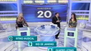 Sara Sarres no Programa Silvio Santos