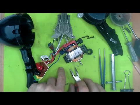 Как отремонтировать спираль фена своими руками