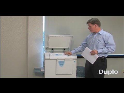 Duplo Duprinter DP-J450 Digital Duplicator