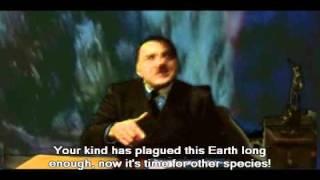 Hitler At The Jurassic Park