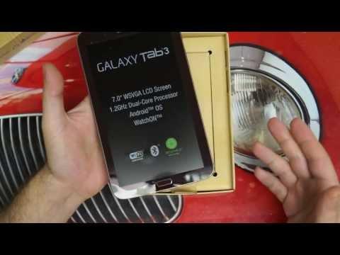 Samsung Galaxy Tab 3 7.0 Unboxing