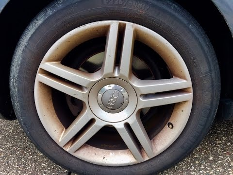 How to Clean EXTREMELY Dirty Orange Rusty Rims / Car Wheels – Fast & Easy HQ