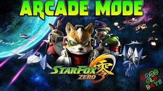 Star Fox Zero: Arcade Mode, Path 2 (Longplay)