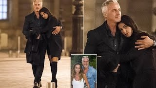 David Ginola, 49, Walks Arm In Arm With 27-year-old Model He Has Left His Wife.