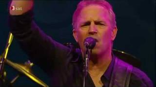 Kevin Costner Modern West -'The Sun Will Rise Again' live at AVO Basel 2009