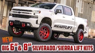 "ReadyLIFT: 6"" and 8"" Big Lift Kits for '19-'20 GM 1500 4WD"