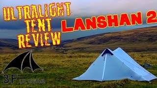 WINTER TEST CAMP - Lanshan 2 ULTRALIGHT BACKPACKING TENT REVIEW