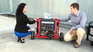 Бензиновый генератор Matari MX9000E от компании ПКФ «Электромотор» - видео