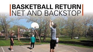 Basketball Return Net And Backstop