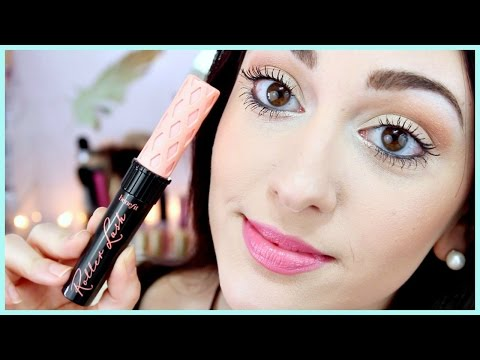 NEW! Benefit Roller Lash Mascara Demo + Review
