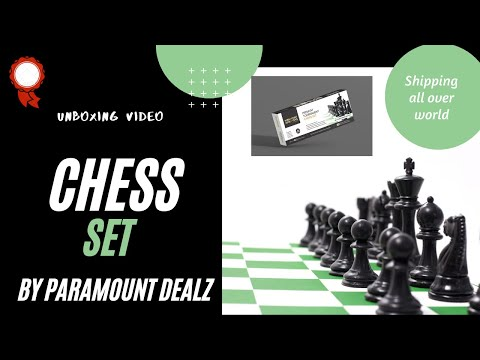 17 Inches Tournament Chess Board Set