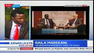 Jukwaa la KTN: Raila Odinga marekani