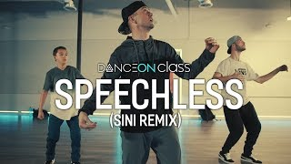 Speechless (Sini Remix)   Robin Schulz Ft. Erika Sirola | Poppin John Choreography | DanceOn Class