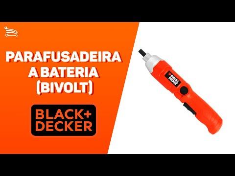 Parafusadeira a Bateria 3,6V com Carregador Bivolt - Video
