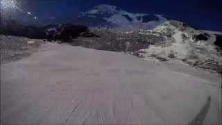 preview picture of video 'Pas de la Casa. Opening week skiing. 04/12/2013'