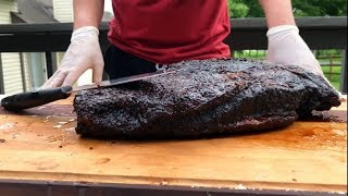 Best Brisket We Have Ever Made! 22 Hour Smoked Brisket!