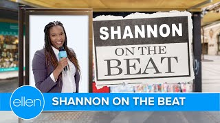 Shannon on the Beat About the Bees