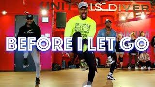 "Beyoncé    ""Before I Let Go""   JR Taylor Choreography"