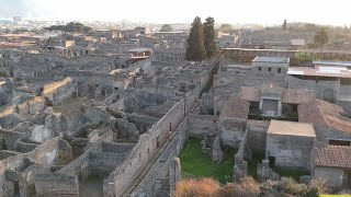 Unveiling new history in the ancient city of Pompeii