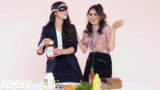 Laura And Vanessa Marano Play I Dare You   Teen Vogue