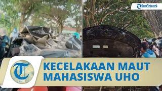 FAKTA Kecelakaan Maut yang Tewaskan 5 Mahasiswa UHO, Dipicu Ban Bocor hingga Dosen Ikut Dampingi