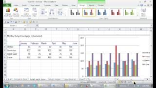 How to Create a Graph in Excel That Shows Number Items In ... : Tips for Microsoft Office & Windows
