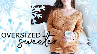 How to Crochet an Oversized Sweater