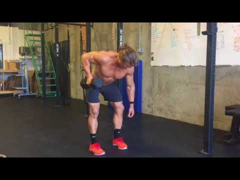 Exercise thumbnail image for Single Arm Dumbbell Bent Over Row