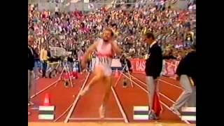 Guido Kratschmer 1986 European- Stuttgart Long Jump
