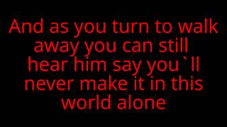 12 stones ~ running out of pain lyrics