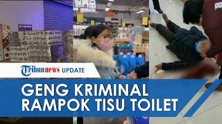 Lantaran Virus Corona, Geng Kriminal di Hong Kong Nekat Rampok Tisu Toilet