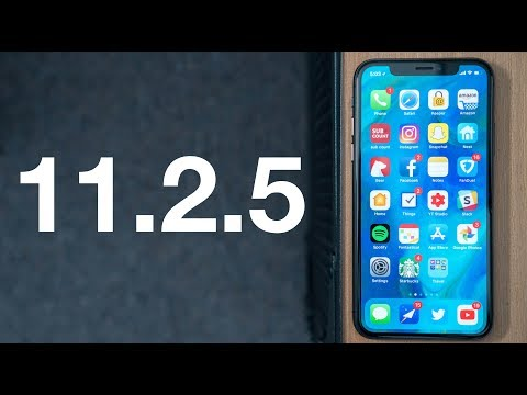 What's New in iOS 11.2.5