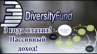 Diversity-Fund Club - 3 года платит на пассиве! Мой обзор и депозит.