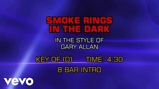 Gary Allan - Smoke Rings In The Dark (Karaoke)