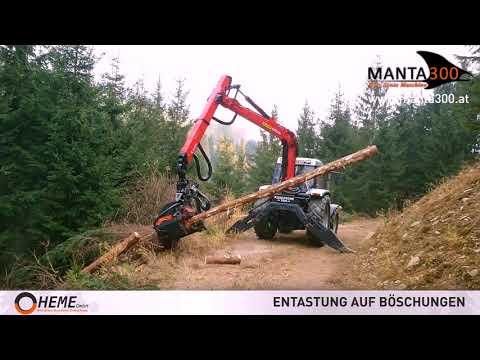 Manta300 Greifzange mit integriertem Rollenprozessor