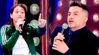 La hermana de Griselda Siciliani y Ángel de Brito se cruzaron en Showmatch